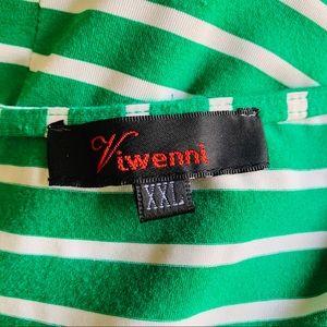 Viwenni Dresses - Viwenni Striped Bodycon Dress Size XXL